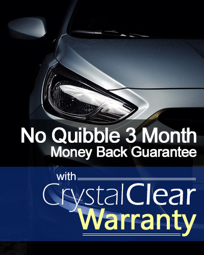 Crystal Clear Warranty Moeny Back Guarantee
