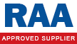 RAA Approved Warranty Supplier